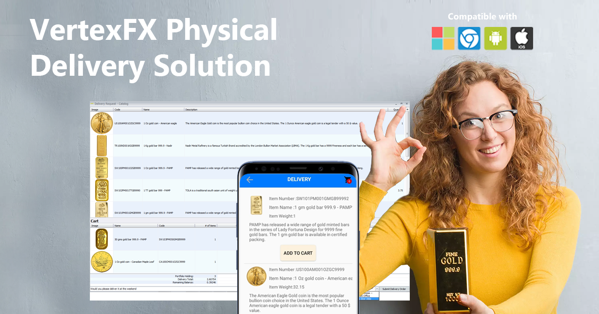 VertexFX Physical Delivery Solution